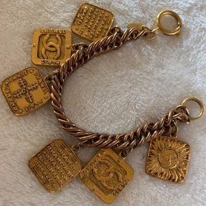 Chanel Vintage Charm Bracelets
